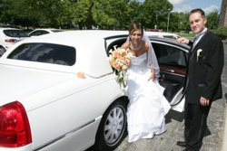New York City wedding limo